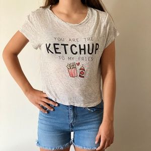 H&M Divided Ketchup to My Fries T-Shirt